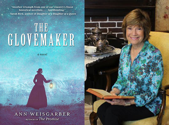 The Glovemaker, by Ann Weisgarber - 2019 Finalist for the David J. Langum, Sr. Prize in American Historical Fiction